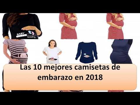 Hibote Ropa de Maternidad Tops de Lactancia Embarazo Camiseta de Enfermer/ía a Rayas Pantuflas de Lactancia