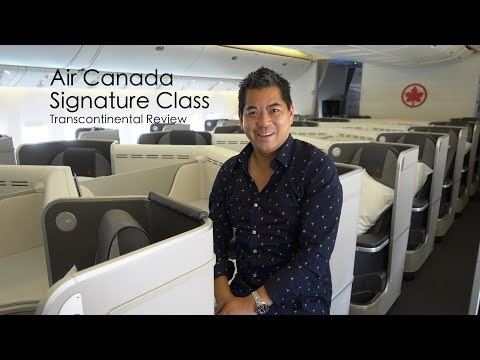 Air Canada Signature Class - Business Class Kicked Up