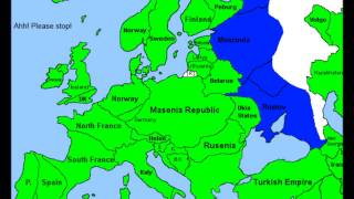 Alternate Future of Europe Part 3 - Russian Civil War