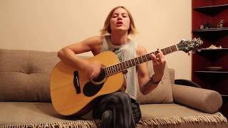 Милая девушка круто поёт и играет панк-рок на гитаре (Йорш - Про панка)