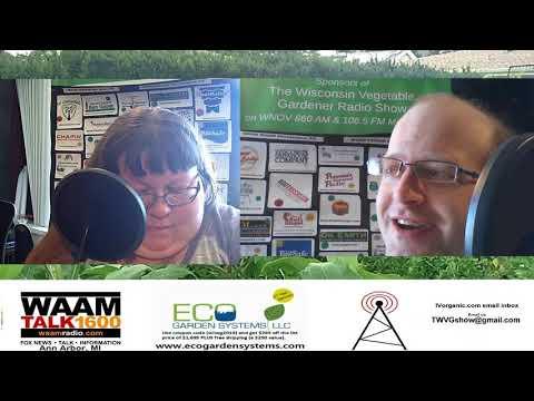 S3E8 Partial shade Vegetables, The Wisconsin Vegetable Gardener Radio show