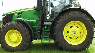 2017 John Deere 7310R 9.0 Litre Diesel Tractor - Start Up