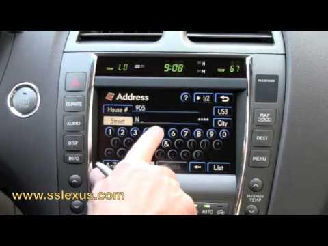 lexus navigation system tutorial