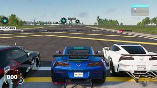 The crew2   Live GamePlay doing some racing and drifting and drags