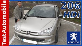 Polovni Peugeot 206 1.4 HDi Test