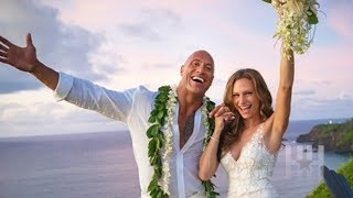 The Rock Gets Hitched + 10 More Celeb Couples Who Wed In Secret