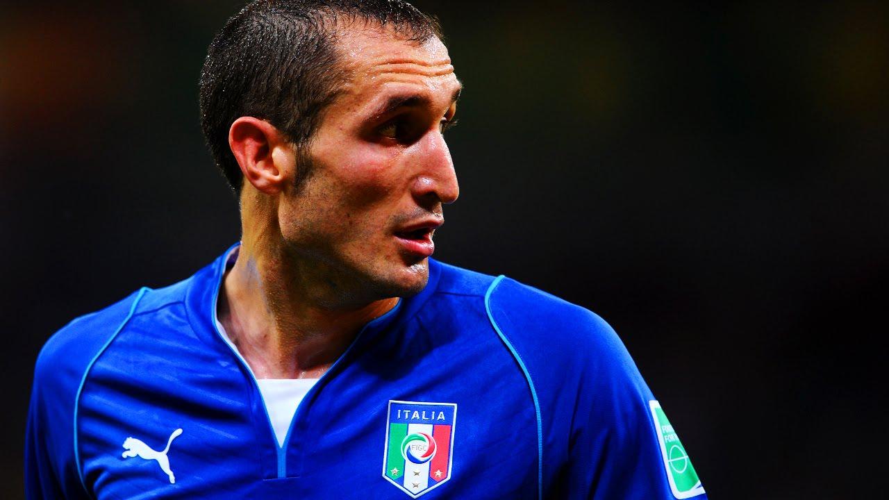 Giorgio Chiellini The Wall Best Defensive Skills