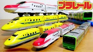 神食玩☆プラレール つなごうプラレール 全6種 F-toysさんが作ると素晴...