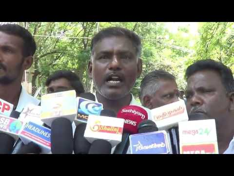 Madurai Municipal Corporation Office front strikes