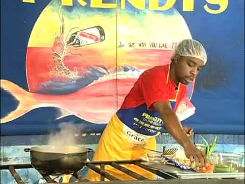 Prendy's Pumpkin Steamed Fish - Grace Foods Creative Cooking