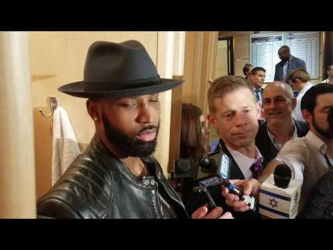 NBA Finals: C Tristan Thompson talks about trash talking in Game 4