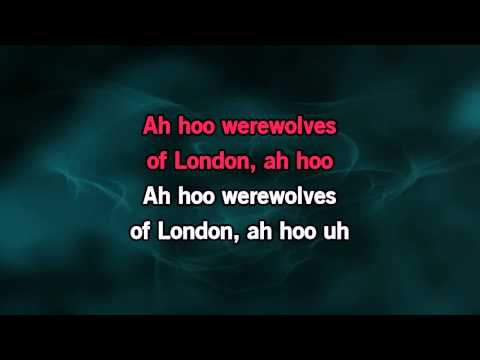 Werewolves Of London Karaoke