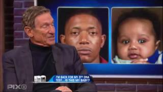 The Maury Show | I'm Back For My Third DNA Test.. Is This My Baby?