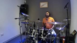 Chris Kalos - drum cover: An Ixa Mini (N.Theodoridou) - Video 8