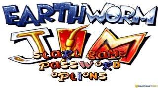 Earthworm Jim gameplay (PC Game, 1994)
