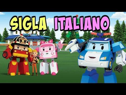 CANZONE SIGLA ROBOCAR POLI italiano episodi cartone animato