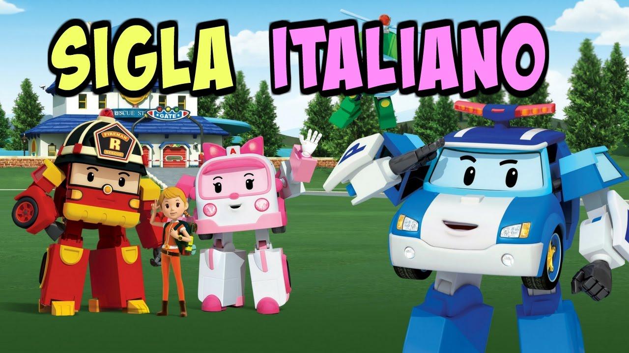 Canzone sigla robocar poli italiano episodi cartone for Cartone animato trilli