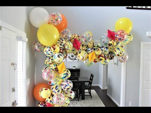 Dollar Store Balloon Garland DIY | How To