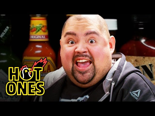 Gabriel Iglesias Does Wrestling Trivia While Eating Spicy Wings | Hot Ones