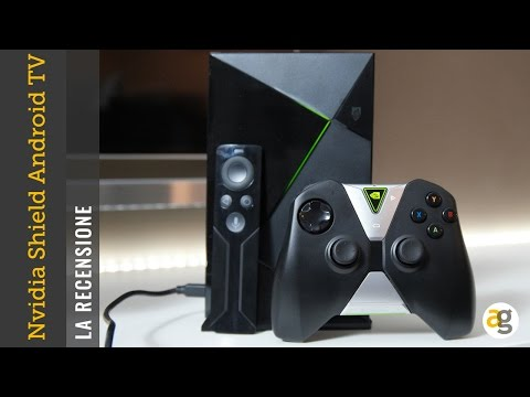 NVIDIA Shield Android TV la recensione