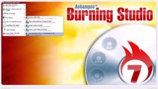 free Ashampoo Burning Studio 7.21