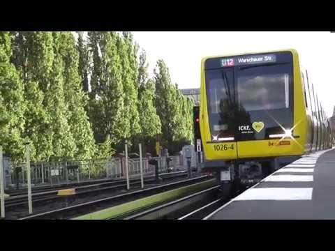 """U-Bahn Berlin - Baureihe Ik: Zugtaufe und Jungfernfahrt von """"Icke"""""""