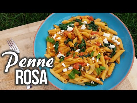 Penne Rosa Recipe - What's For Din'? - Courtney Budzyn - Recipe 68