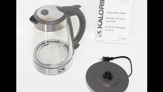 Kalorik Glass Water Kettle