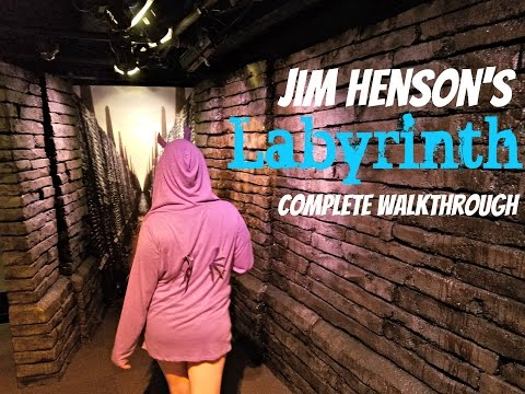 Jim Henson's Labyrinth Exhibit Complete Walkthrough at the Center for Puppetry Arts Atlanta