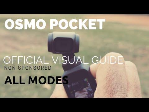 DJI OSMO POCKET| official settings | flashlight mode| nonsponsored