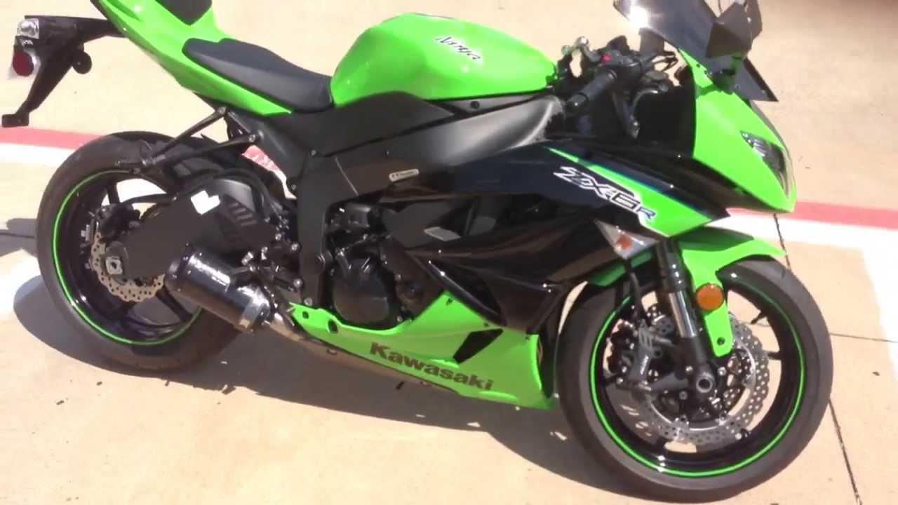 2012 Kawasaki Ninja zx6r (Gatorade frame plug mod) - YouTube