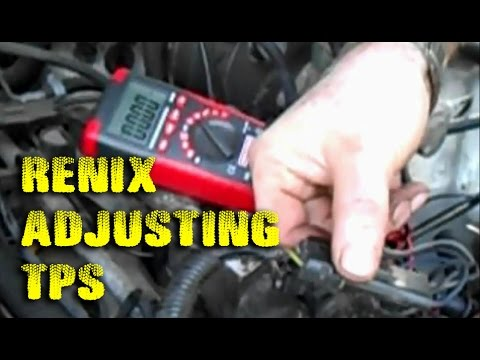 Adjusting TPS on 1990 Jeep - YouTube