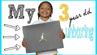 "MY 3 YEAR OLD UNBOXING: Air Jordan Retro 10 ""Lady Liberty"""