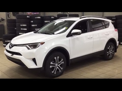 2017 Toyota Rav4 Le Awd Review