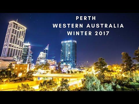 Perth City at Night - Winter 2017