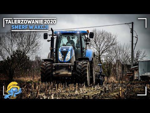 VIXA! ✔ Talerzowanie 2020 ☆ Pierwsza Akcja W Sezonie 2020 ☆ Smerfy W Akcji! ✔NH T6050 & Rolmako
