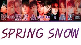 [Color Coded Lyrics] THE BOYZ 더보이즈 - Spring Snow (Han/Rom/Eng)