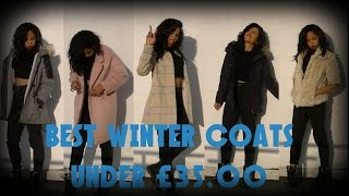 Cheap Winter coat lookbook ft Primark - New Look - H&M - 2014 | Racquel Stewart