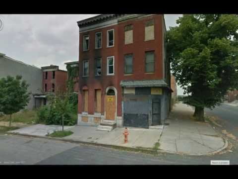 Baltimore, MD Poverty (Google Street View)