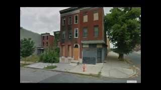 Worst U.S. Ghettos: Baltimore, MD (Google Street View)
