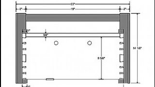 A Cabinetmaker's Toolchest Part One: Preparing The Carcase Panels