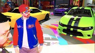 GTA 5 FiveM RP - HellCat Gang Track Day (NEW Customization)