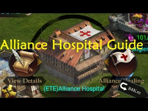 Clash Of Kings - Alliance Hospital Guide/Facts