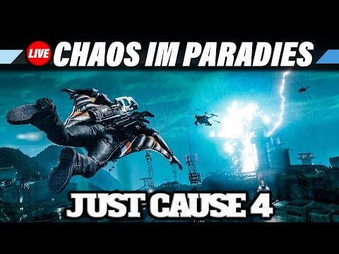JUST CAUSE 4 Live Let's Play #2 – Chaos im Paradies | 60FPS Gameplay German Deutsch thumbnail