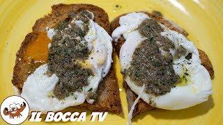 625 - Uovo affogato...e mai più ritrovato! (antipasto tipico toscano facile, genuino e super goloso)