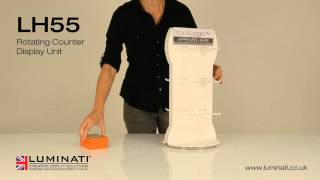 Rotating Counter Display Unit - Luminati Waycon Ltd
