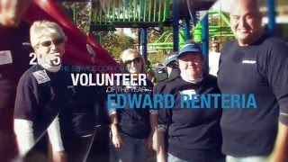 2015 Health Care Service Corp. Volunteer of the Year: Edward Renteria