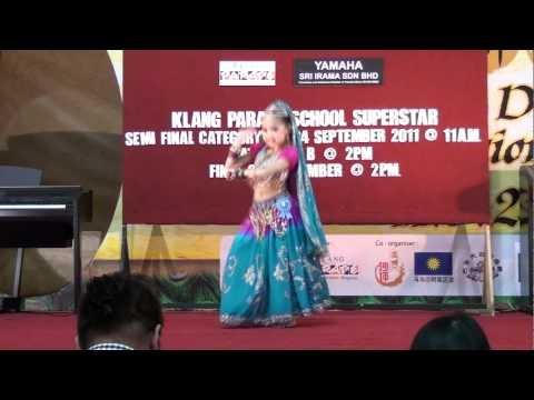 9 yrs old kid dance indian dance - Badi Mushkil - 2001 film Lajja