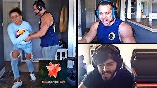 WHEN NINJA MAKES TYLER1 LOSE HIS GAME AFTER DONATING | YASSUO HAS REALLY LOST HIS MIND | LOL MOMENTS