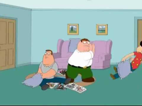 Family Guy Pillow Fight
